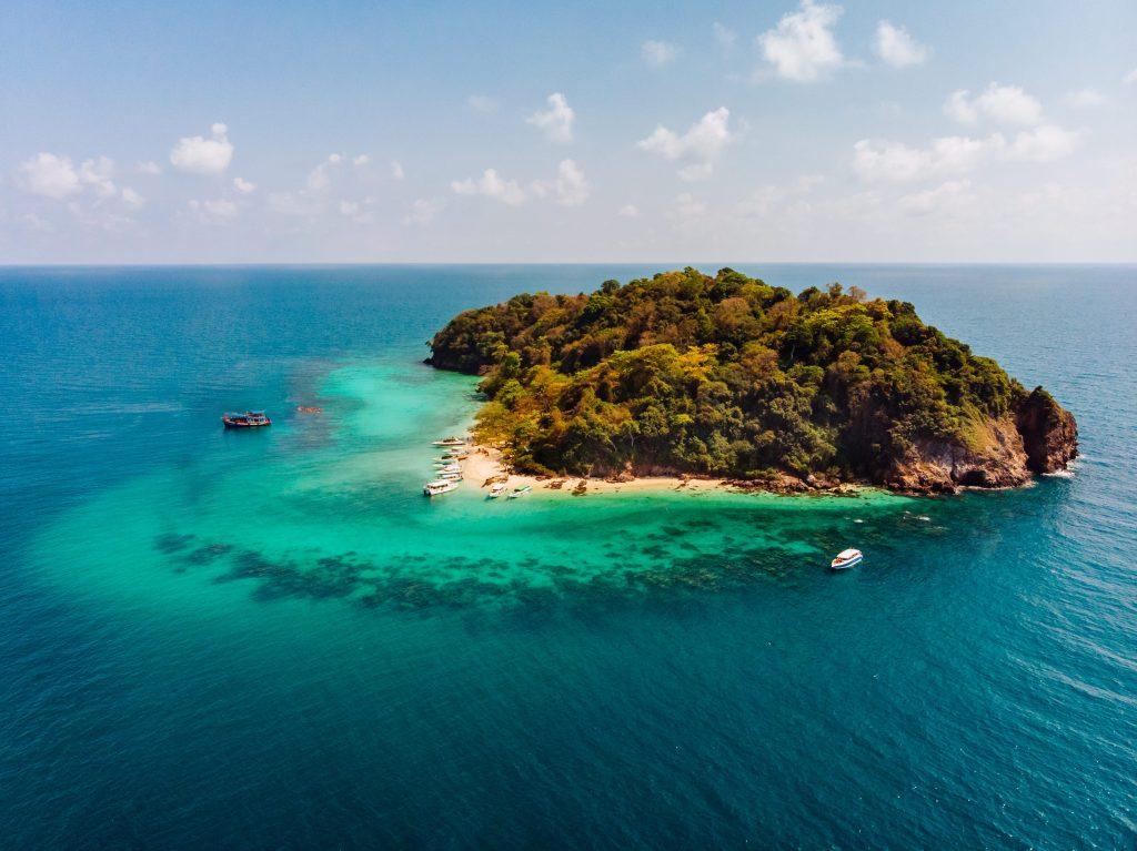 isla gran barrera de coral