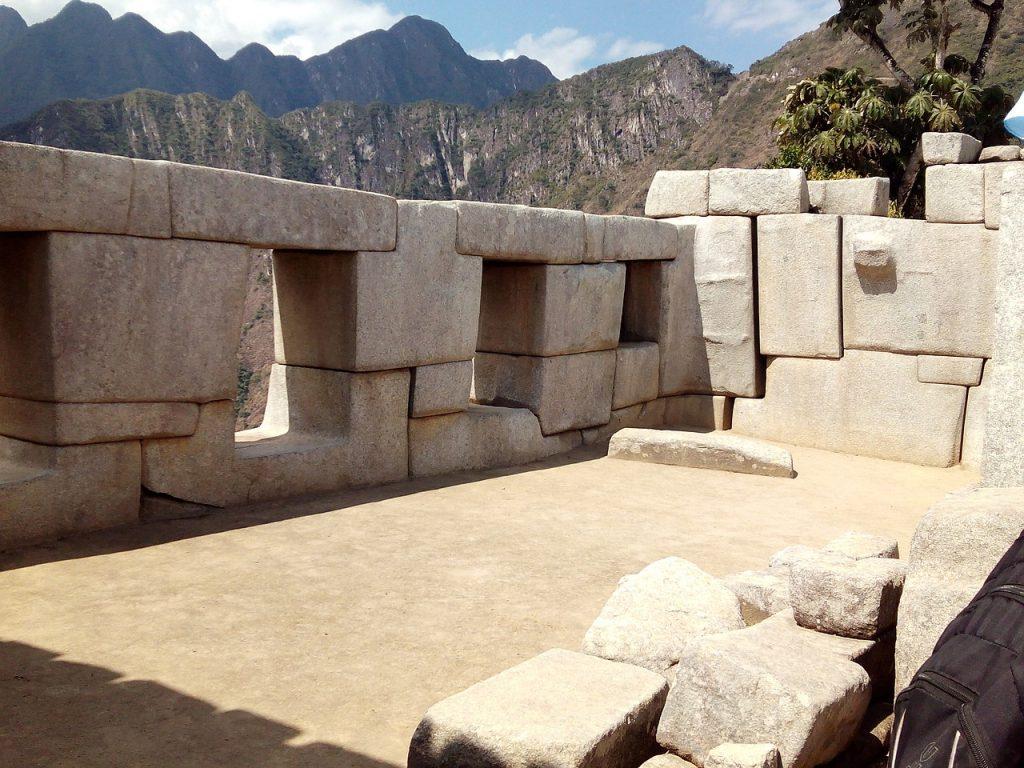 Piedras colocadas en Peru