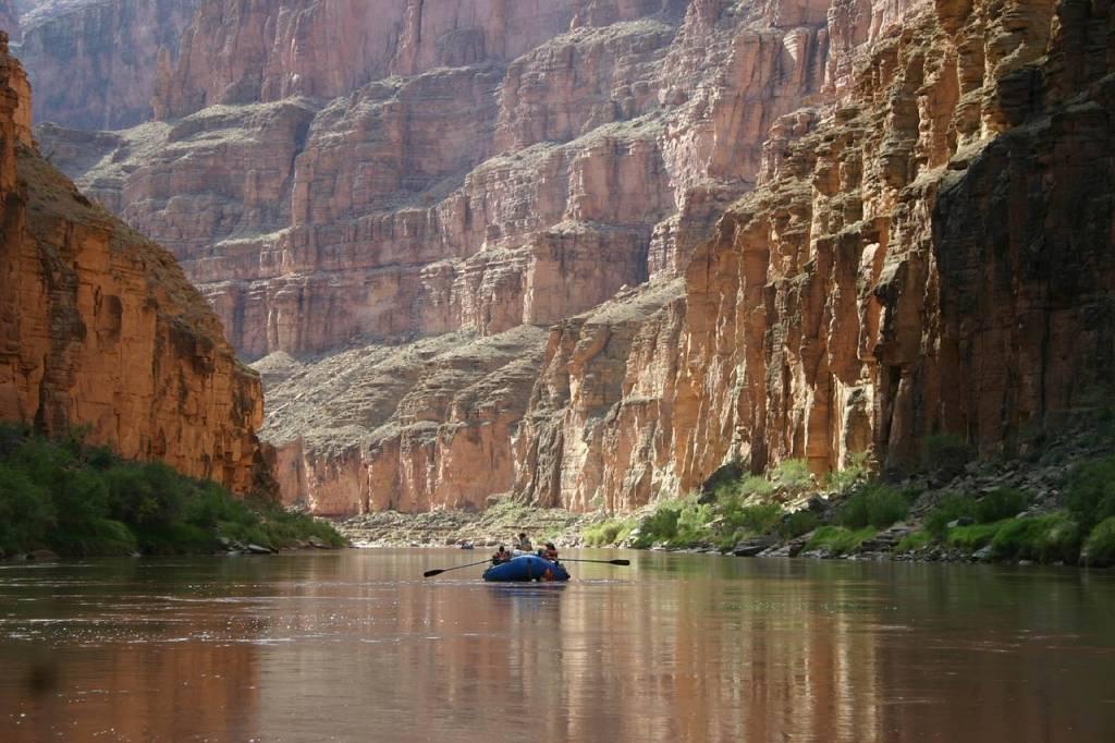 viaje río gran cañón