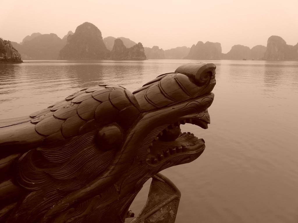 barco dragón