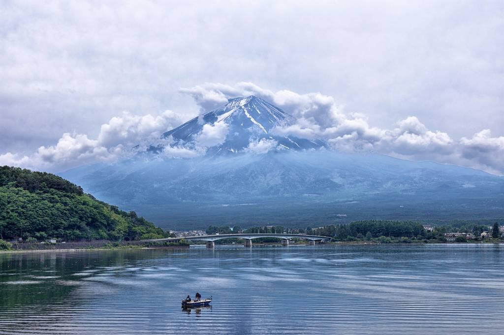 lago japón