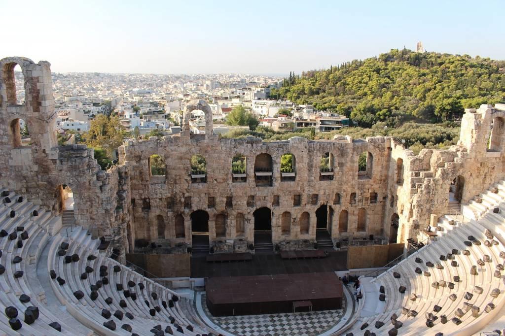 teatro acrópolis de atenas